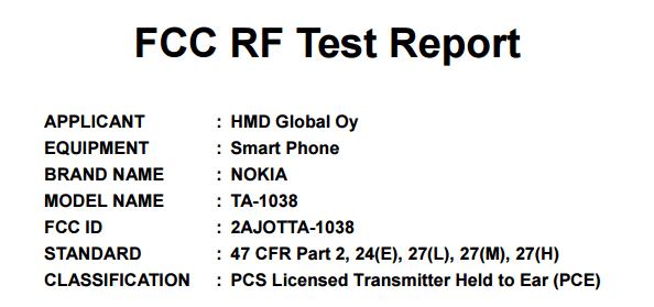Nokia nhận được chứng nhận từ FCC tại Hoa Kỳ