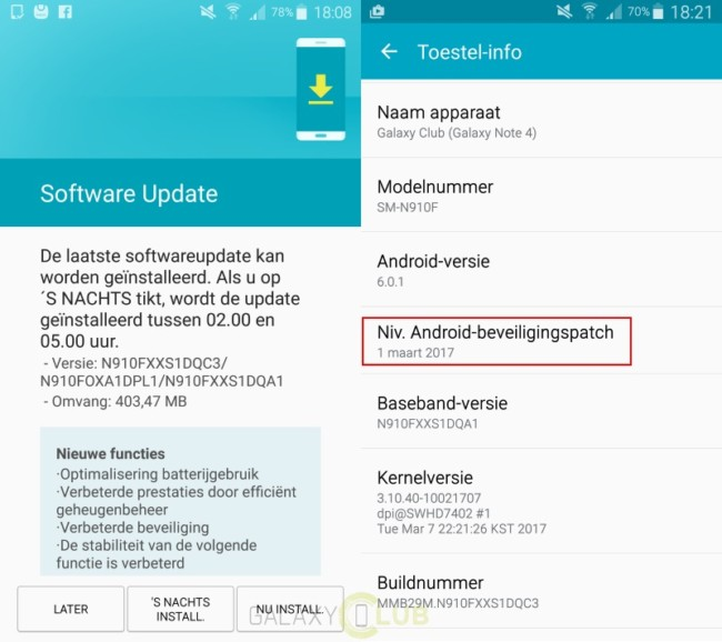 New Samsung Galaxy Note 4 update optimizes battery usage