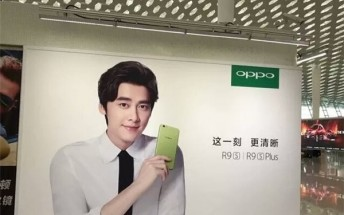 Green Oppo R9s spotted, said to be coming this month