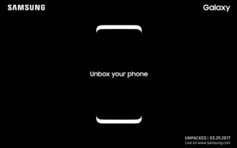 Samsung outs Galaxy S8's unique selling points through registration page