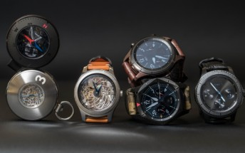 Samsung showcases many Gear S3-based concepts at Baselworld, including a pocket watch