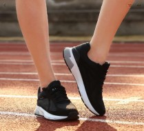 90 Minutes Ultra Smart Sportswear shoes: Black