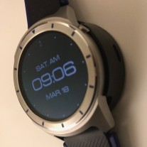ZTE Quartz and its charging dock