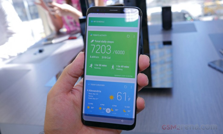 Samsung Galaxy S8 first look