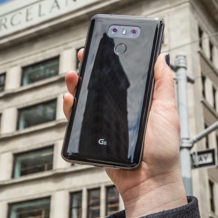 LG bắt đầu triển khai bán G6 ra toàn cầu