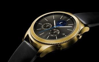 De Billas makes the Samsung Gear S3 classic precious with 24K gold plating