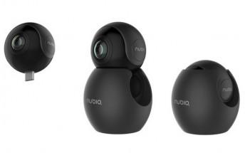 ZTE also unveils nubia NeoAir VR camera