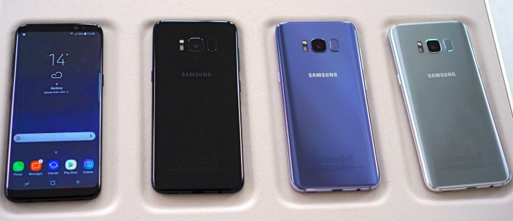 These Are The Color Options For Samsung Galaxy S8 S8 In