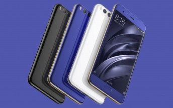 Xiaomi Mi 6 to be available in 11 colors