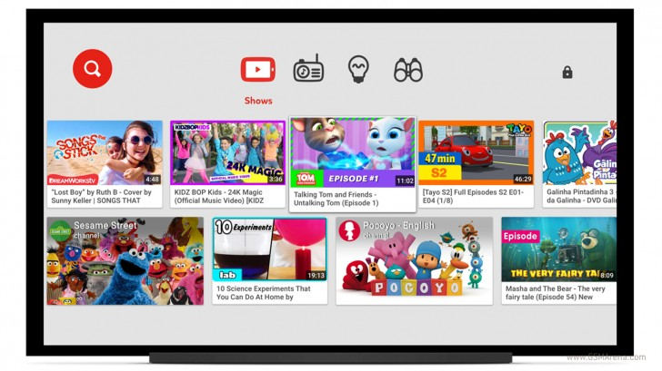 YouTube extends Kids app to smart TVs