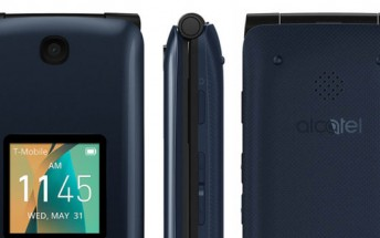 alcatel Go Flip is a basic phone with 2.8-inch screen, 5MP camera