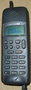 Nokia 1011 (photo by Jkbw)