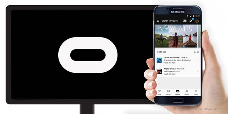 Oculus adds Chromecast support for Gear VR