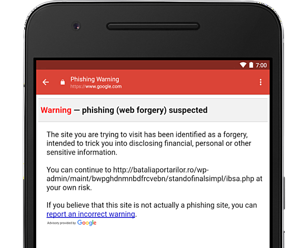 Gmail for Android gets anti-phishing security checks