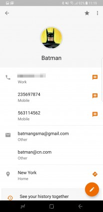 Google Contacts 2.0