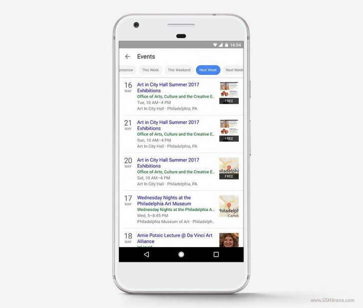 Google Search for Events Gets Overhauled