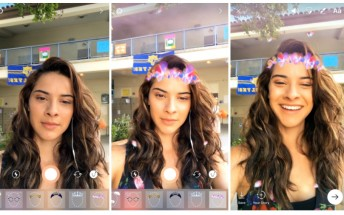 Instagram's rip-off Express has no brakes, copies face filters from Snapchat
