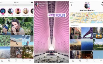 Instagram adds location and hashtag Stories in the Explore section