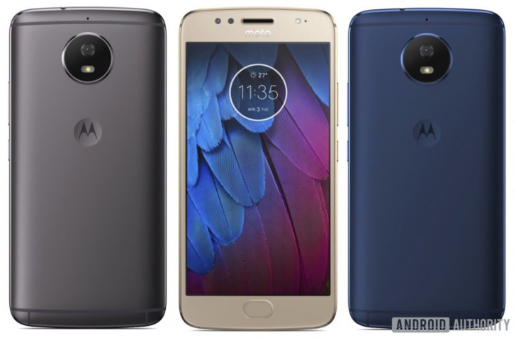 Leaked Images of Three Variants of Moto G5S Spotted Online