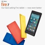 New Amazon Kindles: Fire 7