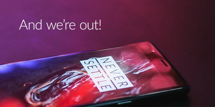 Midnight Black version of OnePlus 3T is sold out