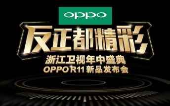 Oppo R11 video commercials leak, reconfirm June 10 announcement