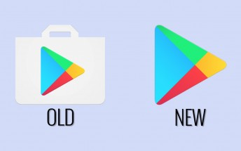 Play Store icon loses the bag in favor of modernity