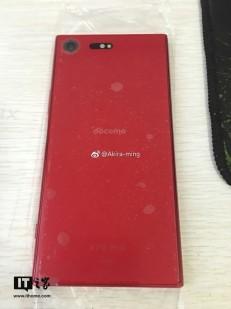 More shots of the red Xperia XZ Premium