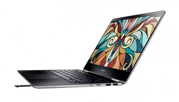Samsung's new Notebook 9 Pro includes a built-in S Pen