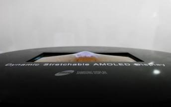 Samsung to show a 9.1-inch stretchable OLED panel tomorrow