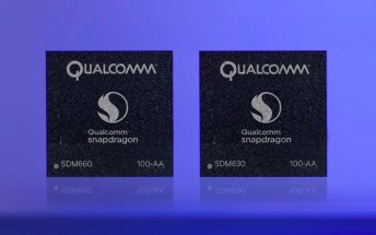 Qualcomm announces Snapdragon 660 and Snapdragon 630 SoCs