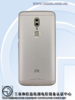 ZTE A2018 (Photos by TENAA)