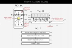 Apple patent drawings of possible new locations for Touch ID