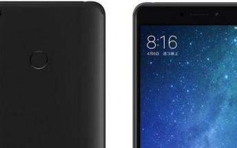 Xiaomi Mi Max 2 Matte Black variant launched