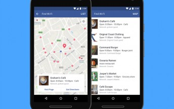 Facebook now finds Wi-Fi networks nearby