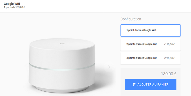 Google Wifi now available in France and Germany