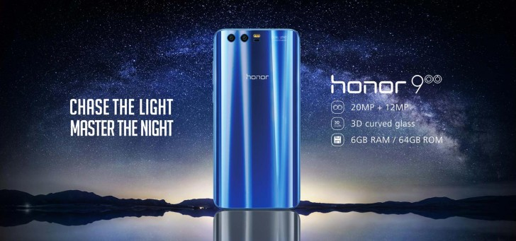 Huawei Honor 9 reaches Europe, will sell for €450/£380