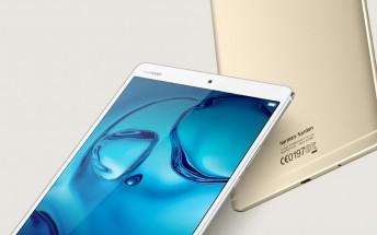 Huawei unveils MediaPad M3 Lite 8.0 tablet