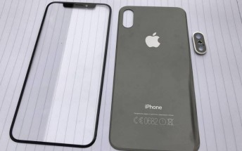 Front and rear panels for the iPhone 8 leak, glass backs for iPhone 7s and 7s Plus too