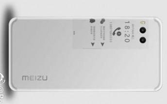 Live photo of the Meizu Pro 7 leaks