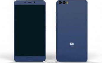 Xiaomi Mi 6 Plus rear panel leaks showing a familiar design