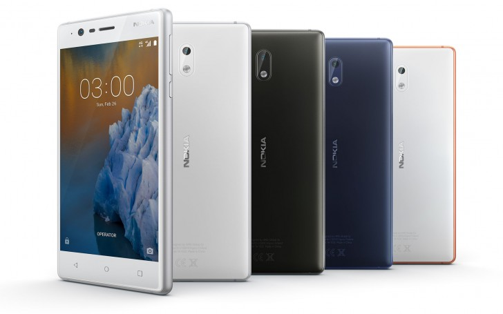 Nokia 3 goes on sale in India, available through offline channels