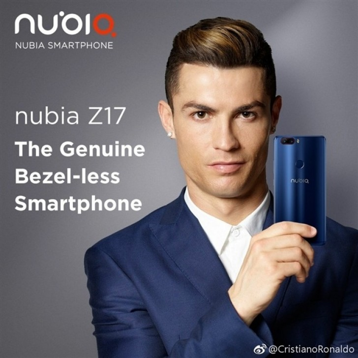 ZTE Nubia Z17 Smartphone Gets Official