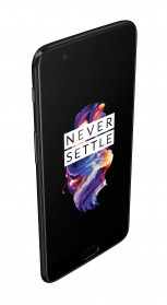 OnePlus 5 is available in: Midnight Black