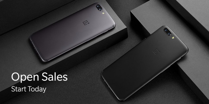 OnePlus 5 sales go live on the official site