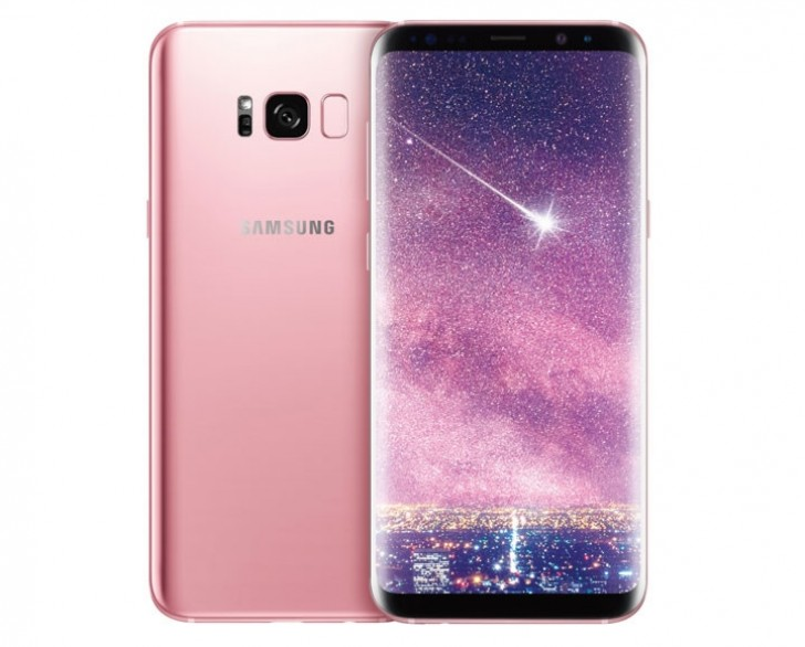 Rose Pink Galaxy S8+ announced in Taiwan