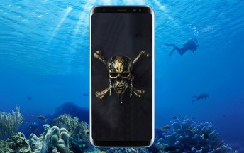 Galaxy S8+ leaks in Pink, Galaxy S8 gets official Pirates of the Caribbean version