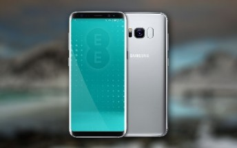 Samsung Galaxy S8 Arctic Silver coming to the UK as an EE exclusive