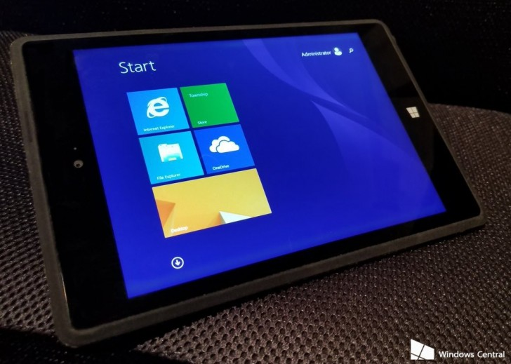 Microsoft's canceled Surface Mini in 2014 surfaced in photos