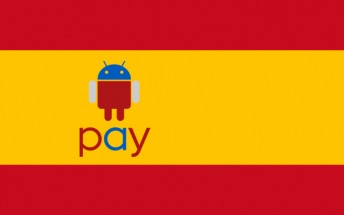Android Pay reaches Spain